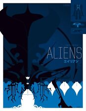 Tom Whalen Aliens Limited Edition S/N Movie Art Print Poster