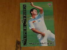 CRICKET - MARTIN McCAGUE - *RARE-  FUTERA SUPER SERIES CARD - 1994 MINT