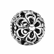 AUTHENTIC PANDORA #790965 PICKING DAISIES CHARM BEAD BNIB SILVER FLOWER LOVE
