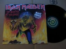 IRON MAIDEN,NUMBER OF THE BEAST/REMEMBER TOMORROW(LIVE) maxi m-/m- emi records