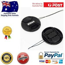 77mm Camera Front Lens Cap cover with String Nikon D40 D50 D60 D90 D3000 D5100