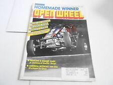 APRIL 1990 OPEN WHEEL vintage car racing magazine