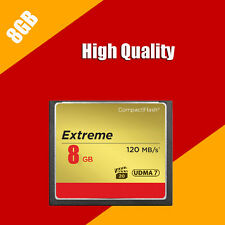 8GB 120MB/s NEW Genuine Extreme Ultimate Compact Flash Memory CF Card FOR Camera