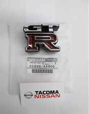 Genuine Nissan R34 Skyline GT-R Front Grille Emblem Brand New 62896-AA400