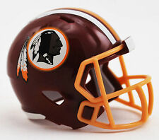 Nouveau NFL Football américain Vitesse Riddell POCKET PRO Casque Washington redskins