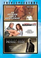 NEW Richard Gere Triple Feature (DVD, 2007) Runaway Bride Primal Fear An Officer