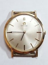 Omega c.1960 Mechanical 14k Gold Thin Wrist Watch 3183