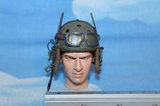DRAGON IN DREAMS 1:6TH SCALE WW2 U.S. ARMY 2ND ARMORED DIVISION TANK HELMET