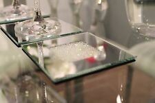 New Set of 4 Mirrored Coaster Made With Swarovski Crystals Dining Table Dinner