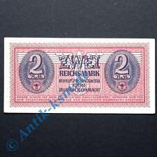 WOW Ros. 506 , Banknote über 2 Reichsmark Behelfszahlungsmittel der Wehrmacht