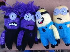 BARGAIN**KNITTING PATTERN *  DESPICABLE ME MINION's****** EASY PATTERN ****
