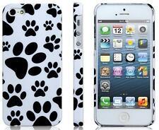 Coque Housse Etui  motif  Pattes  de chien chat dog cat  Pour IPhone 5 5S case