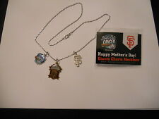 SAN FRANCISCO SF GIANTS 2012 WORLD CHAMPIONS CHARM NECKLACE, SGA