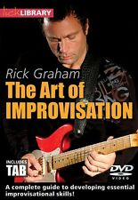 The Art of Improvisation Lick Library DVD NEW 000139216