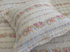 SHABBY CHIC DITSY FLORAL PATCHWORK CUSHION COVER 100% COTTON