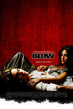 BLOW (LAMINATED) POSTER Johnny Depp Peneope Cruz Movie Score BRAND NEW Licensed