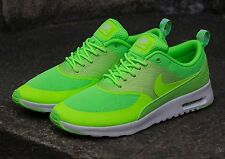 Nike Air Max Thea Womens Shoes Size 6.5 599409-300 FLASH LIME - WHITE