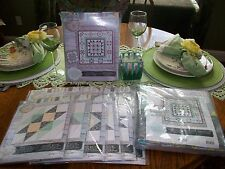 "Quilt Kit Jo-Ann ""BLOCK OF THE MONTH LACEFLOWER Complete kit for top and backing"