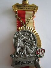 German 1981 Volksmarch Wandertag Gold Medal: Turnverein 1860 e.V. Rathaussaal