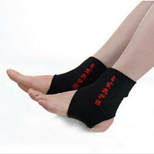 2pcs Magnetic Therapy Ankle Brace Support Heating Belt Spontaneous Health Strap