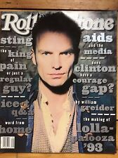 Rolling Stone #657 Sting cover, Suede, Ice-T