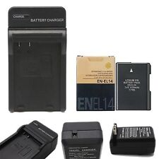 EN-EL14 battery charger for Nikon D5100 D3100 P7100 D3200 D5200 MH-24 MH24