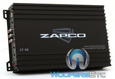 ZAPCO ST-4B AMP 4-CHANNELS 65W X 4 RMS COMPONENT SPEAKERS TWEETERS AMPLIFIER NEW