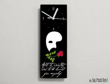 Phantom of the Opera Quotes -All i wanted was to be loved... - Wall Clock