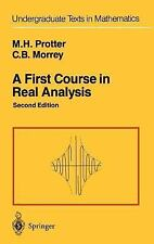 A First Course in Real Analysis (Undergraduate Texts in Mathematics), All Amazon