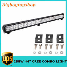"44"" 288W LED LIGHT BAR CREE Combo Garden Driving Jeep SUV 4WD 96pcs 36""/20""/28"""