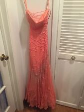Alyce Paris Pink Coral Gown/Prom Dress