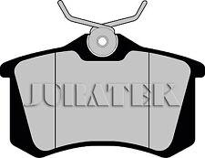 QUALITY BRAKE BRAKING PADS REAR CITREON PEUGEOT RENAULT JURATEK - JCP1083