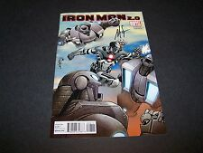 SIGNED NICK SPENCER IRON MAN 2.0 #8 UPCOMING MARVEL COMICS MOVIE 3 WAR MACHINE