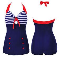 Womens Red Swimwear Halter Boyshort Swimsuit Tankini Swimdress UK SIZE 8-20
