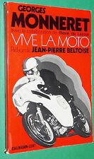 GEORGES MONNERET VIVE LA MOTO / RENE DE LATOUR / JOJO RECORD FRANCE MONDE