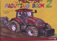 THE TRACTOR PAINTING BOOK 2, colouring book for children