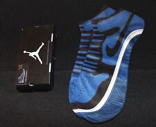 Air Jordan Retro I 1 Royal Blue Black Limited Elite Socks Men's Lg Sneakers New