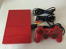 SONY Japan PlayStation 2 PS PS2 Game Console System Red Japanese Limited Used
