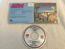 (BMG ISSUE) AC/DC Dirty Deeds Done Dirt Cheap ATLANTIC RECORDS CD OOP