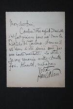 3 LAS Paul Adam à Octave Uzanne Lettres autographes Littérature