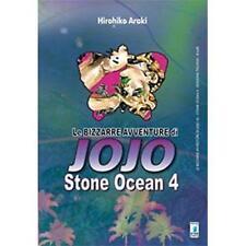 LE BIZZARRE AVVENTURE DI JOJO - STONE OCEAN 4 DI 11 - STAR COMICS NUOVO