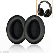 Black Replacement Earpads Ear Pads Cushions for Monster Beats By Dr.Dre Studio