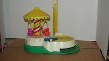 FISHER PRICE  MUSICAL MERRY-GO-ROUND - HAND CRANK - RECORD