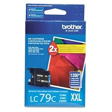 NEW Genuine Brother LC79C XXL Cyan for MFC-J5910DW J6510DW J6710DW J6910DW