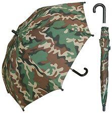 """32"""" Children Kid Camo Print Umbrella - RainStoppers Rain/Sun UV"""
