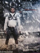 2007 Nike Pro Ad-Shawne Merriman-Forged By The Elements-8.5 x 10.5""