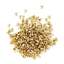 Set 200 Eyelets Grommets Gold 1.5mm for Leather Shoes Belts Bags Clothes Canvas