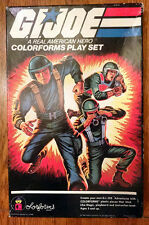 Vintage 1982 GI Joe COLORFORMS set with original paperwork