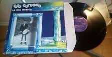 LP TOTO CUTUGNO La Mia Musica 1st Press FOC Vinyl 1981 Carosello – CLN 25093