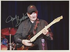 James Burton (Guitarist) SIGNED Photo 1st Generation PRINT Ltd + Certificate / 2